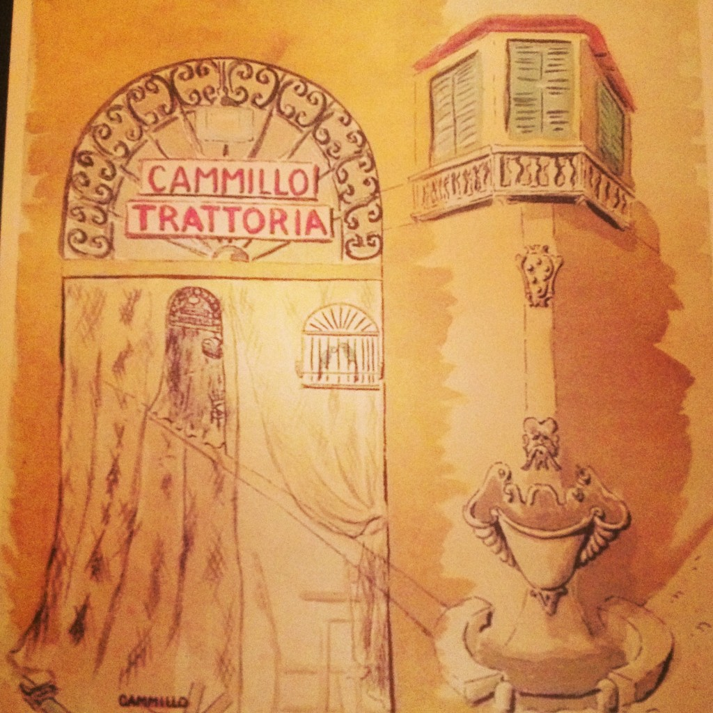 Cammillo Trattoria Florence illustration