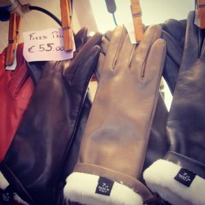 Mercato san Lorenzo gant en cuir alidifirenze