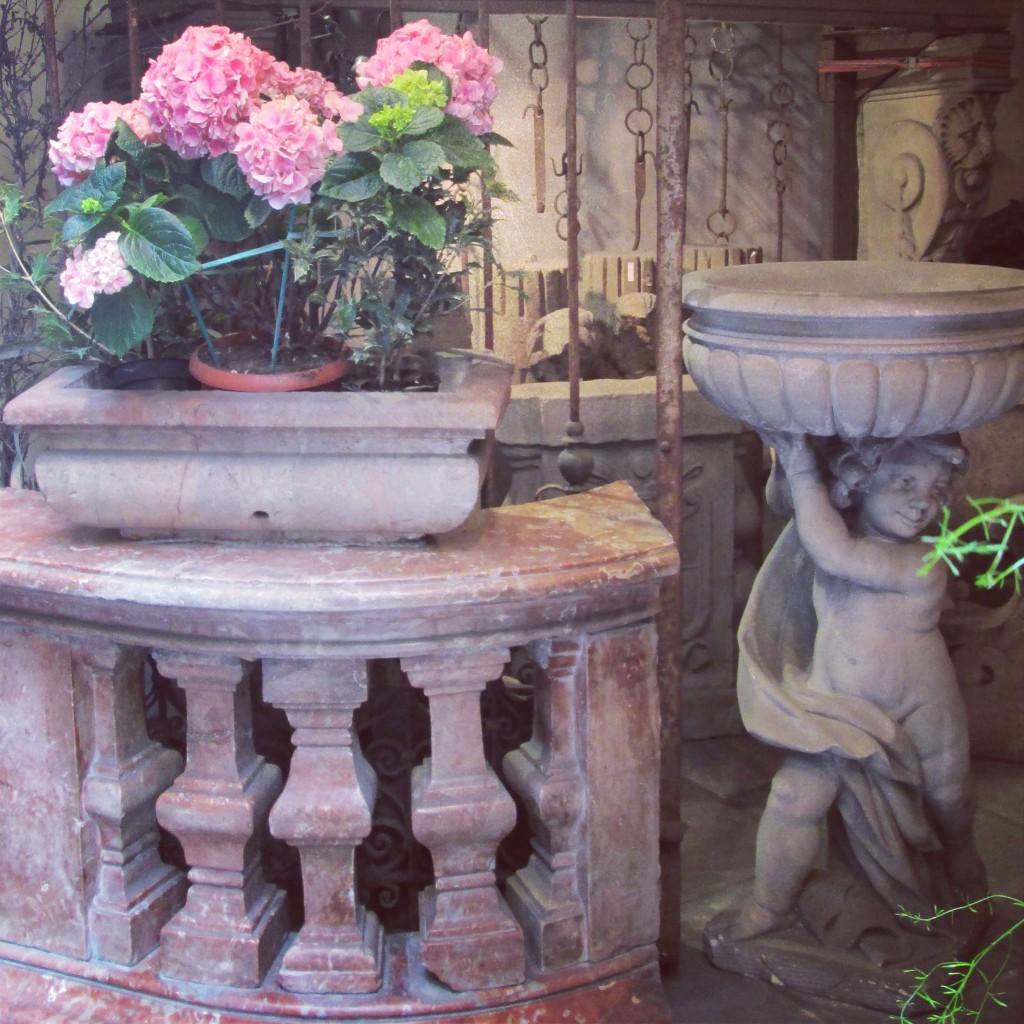 Antiquaire via dei Serragli chez Albrici e Paderni à Florence