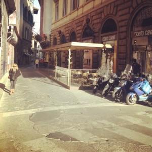 Caffé Giacosa Roberto Cavalli Patisserie à Florence terrasse 2