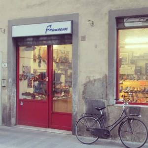 Francesco sandale cuir Florence Santo Spirito