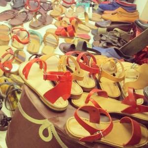 Francesco sandale cuir Florence Santo Spirito présentation