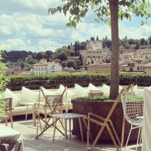 Terrasse Hotel Continentale Florence alidifirenze