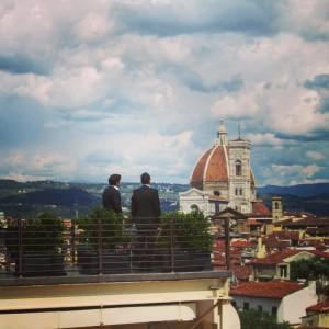 Westin Excelsior Firenze Sesto Terrasse roof top aperitivo Alidifirenze Ognissanti 3