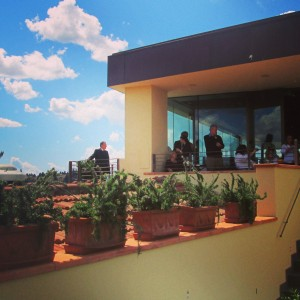 Westin Excelsior Firenze Sesto Terrasse roof top aperitivo Alidifirenze Ognissanti exterieur