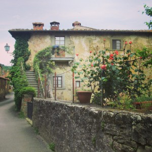 village bottega Volpaia Chianti Gina alidifirenze