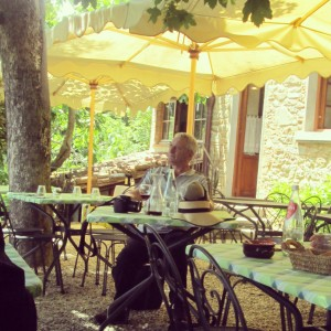 village bottega Volpaia Chianti Gina terrasse alidifirenze