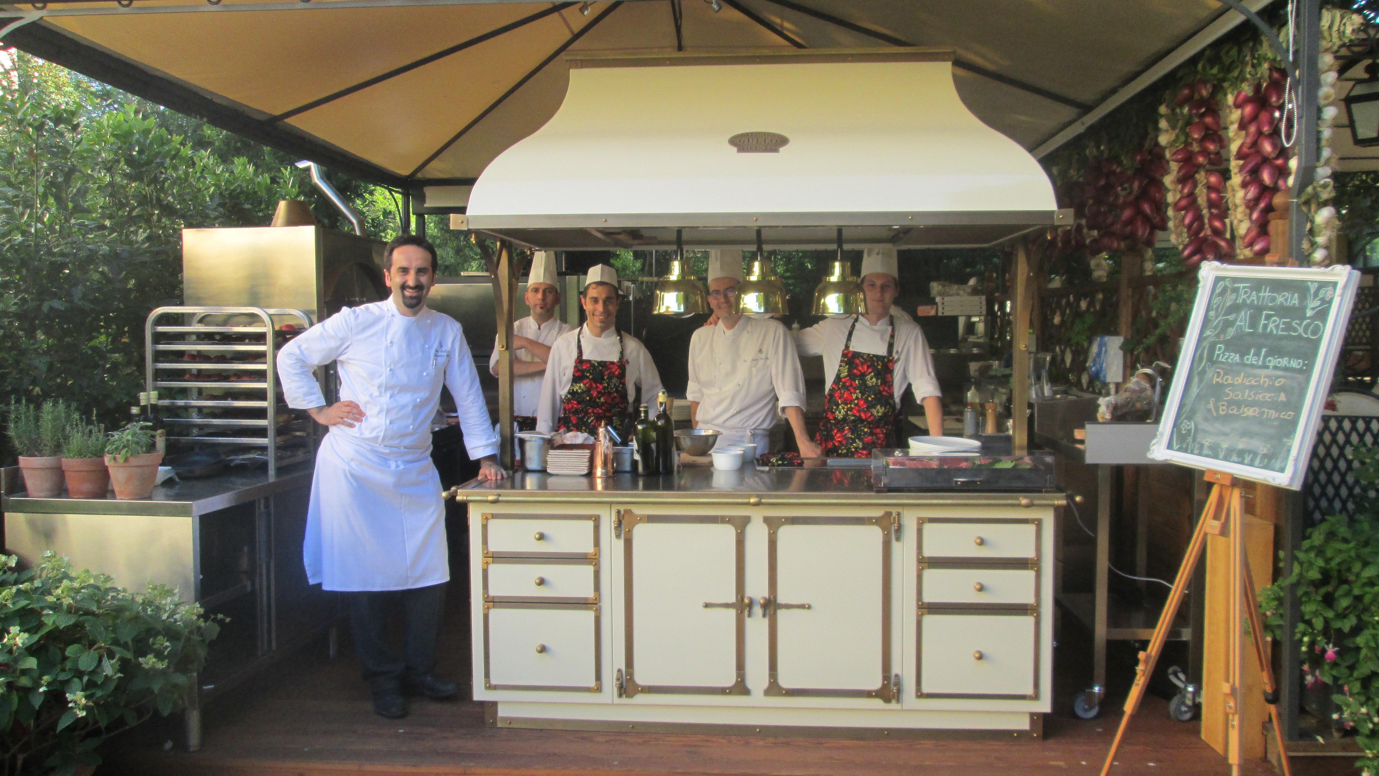 Vito Mollica chef étoilé du Four Seasons pour  alidifirenze