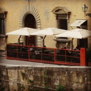 Rivalta terrasse exterieure alidifirenze