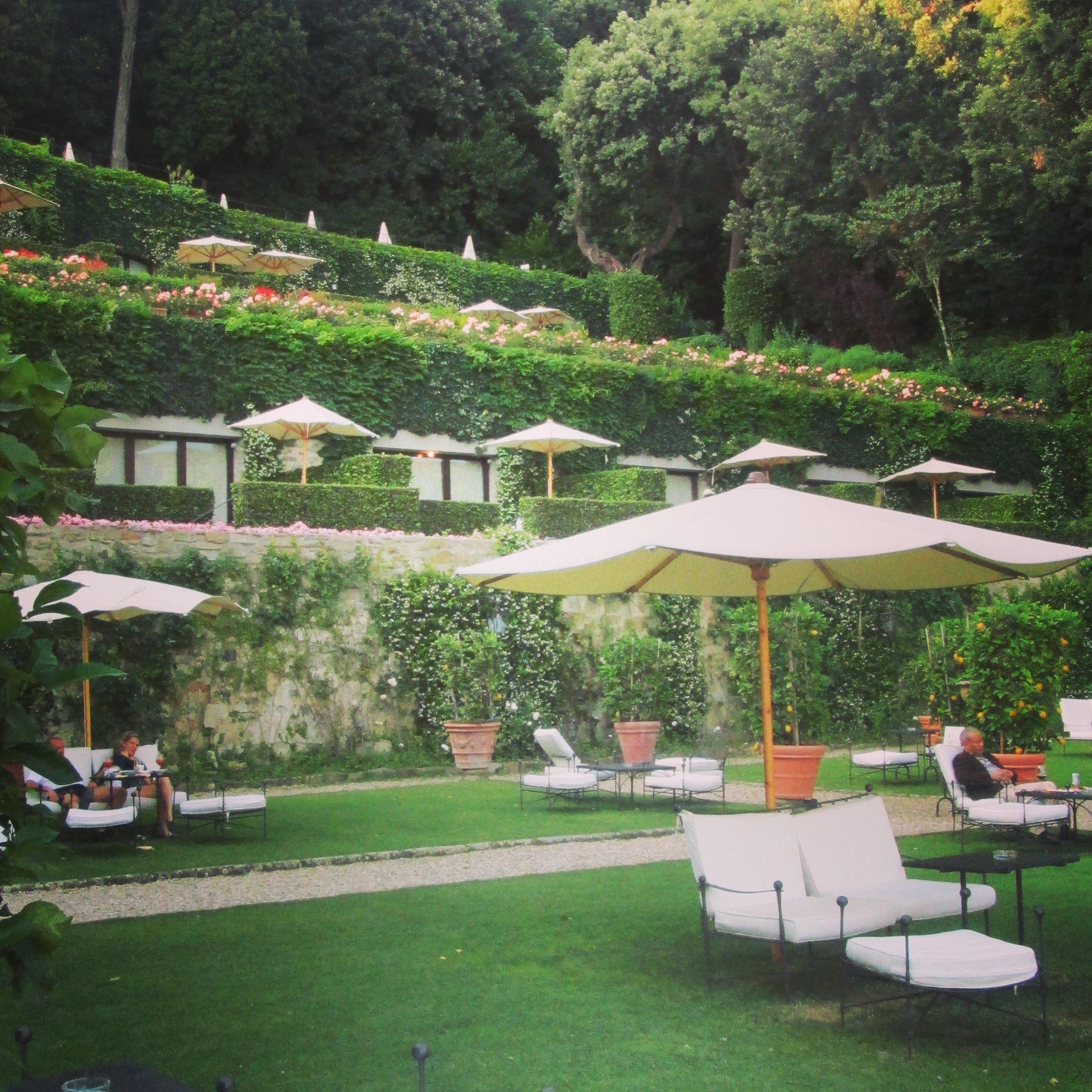 aperitivo de r ve villa san michele florence terrasse vue. Black Bedroom Furniture Sets. Home Design Ideas