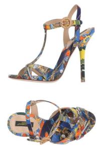 Chaussures Dolce&Gabbana sur le site yoox.com