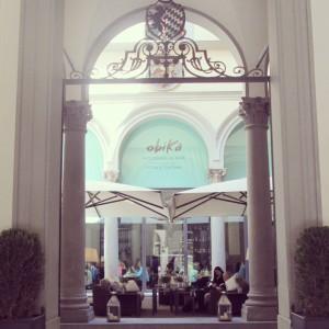 Brunch à Florence exterieur Obika mozzarella Alidifirenze