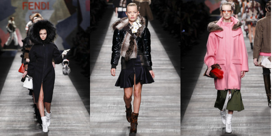 Fendi fashion week milan fw 15 alidifirenze