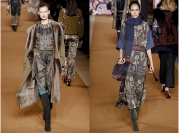 Etro fashion week milan fw 15 alidifirenze