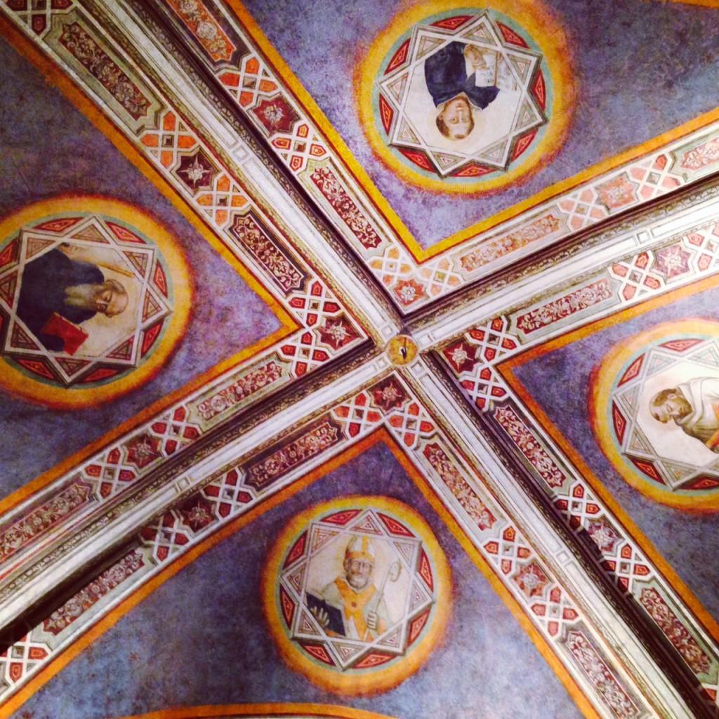 Pharmacie santa maria novella fresque Alidifirenze