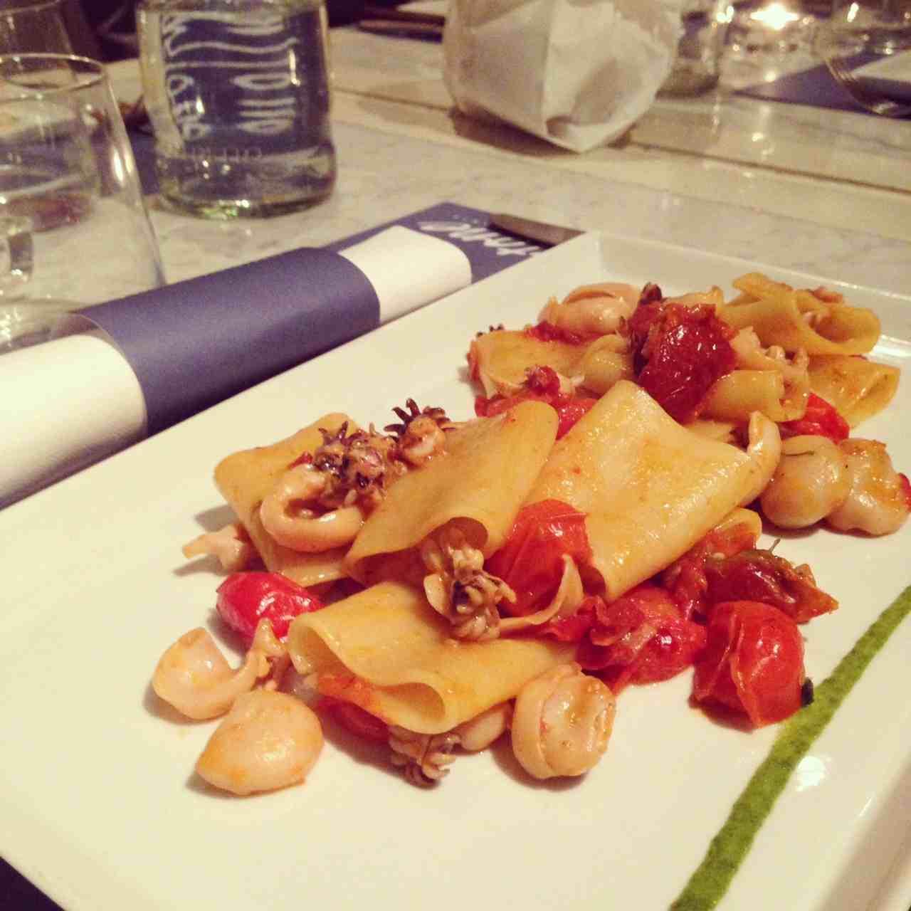 restaurant poisson Gastone Florence Alidifirenze paccherri