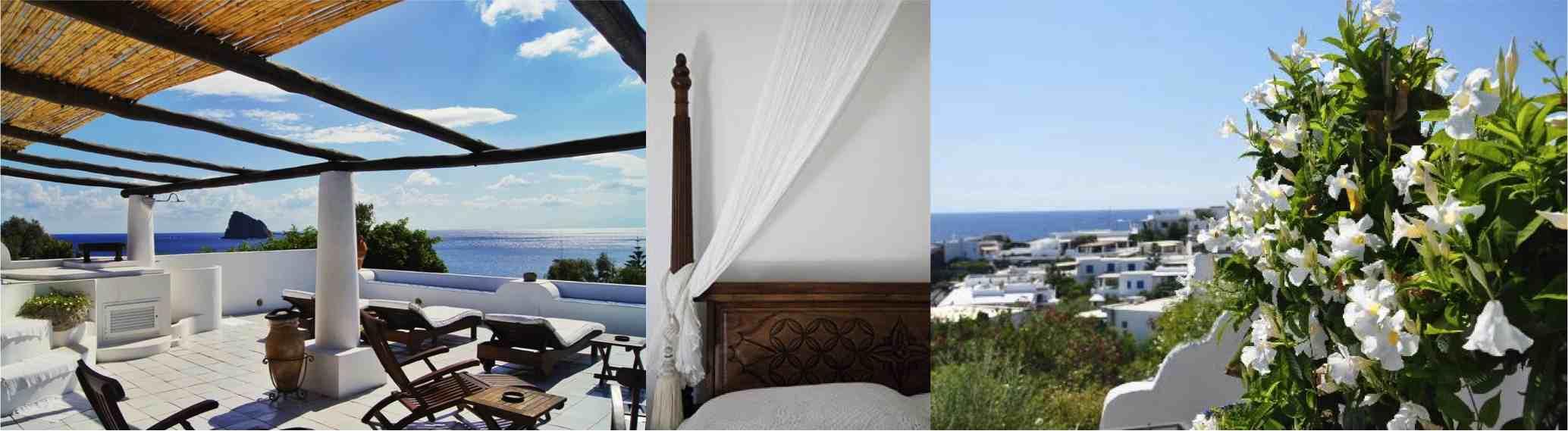 Panarea quartara hotel Alidifirenze