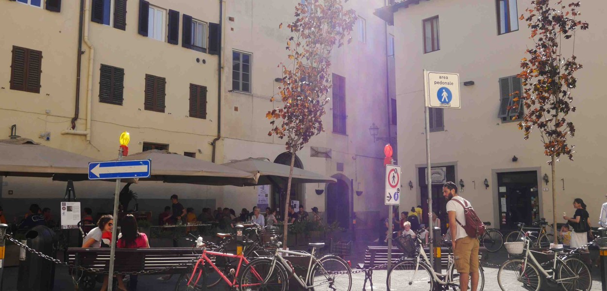 Le triangle infernal de la Piazza della Passera