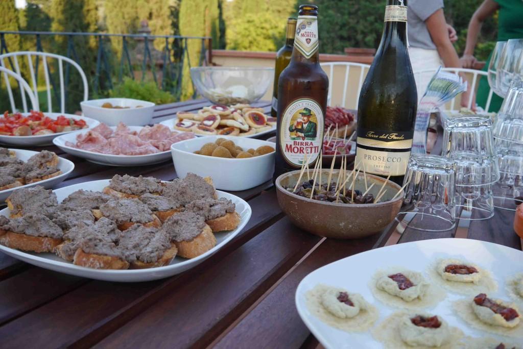 chips parmesan Apero à l'italienne Alidifirenze