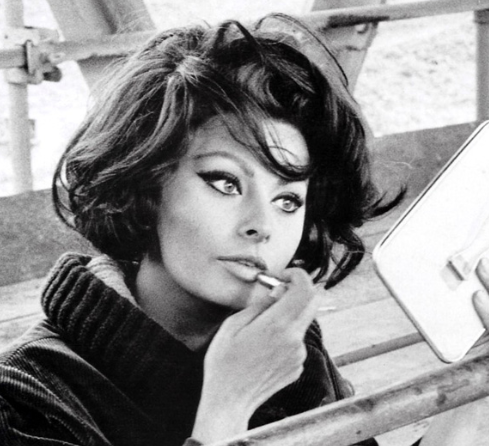 Sophia Loren Make up