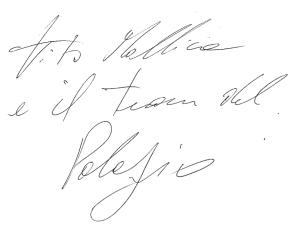 Signature Vito Mollica Il Palagio Alidifirenze