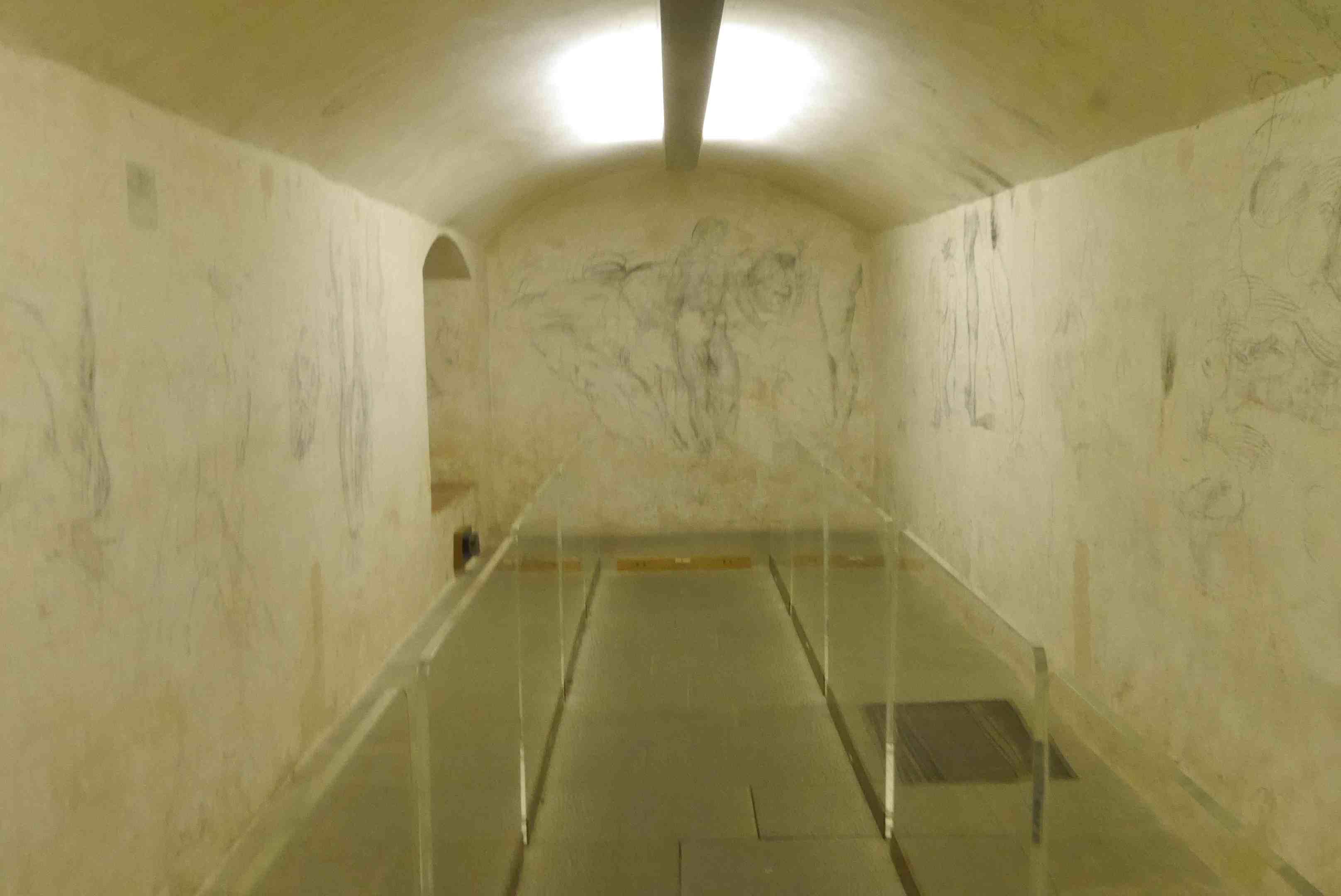 Chambre secrète Michelangelo Alidifirenze