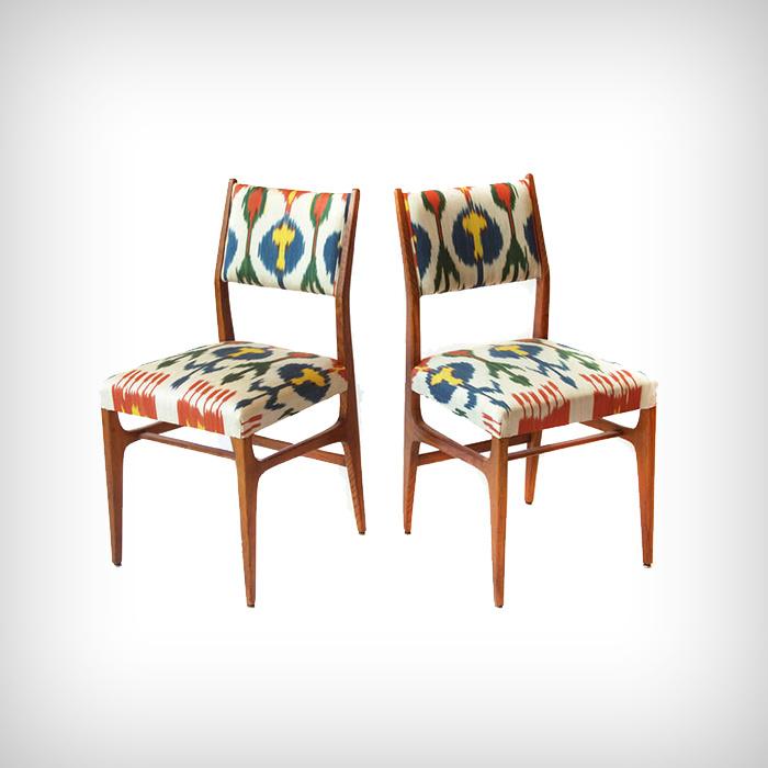 Gio Ponti Paire de chaises 1956