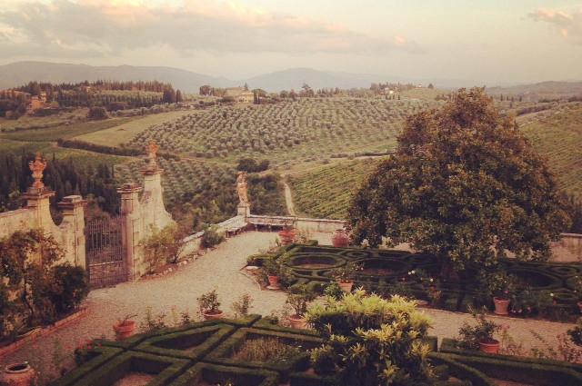 Passeggiata Villa Corsini Alidifirenze