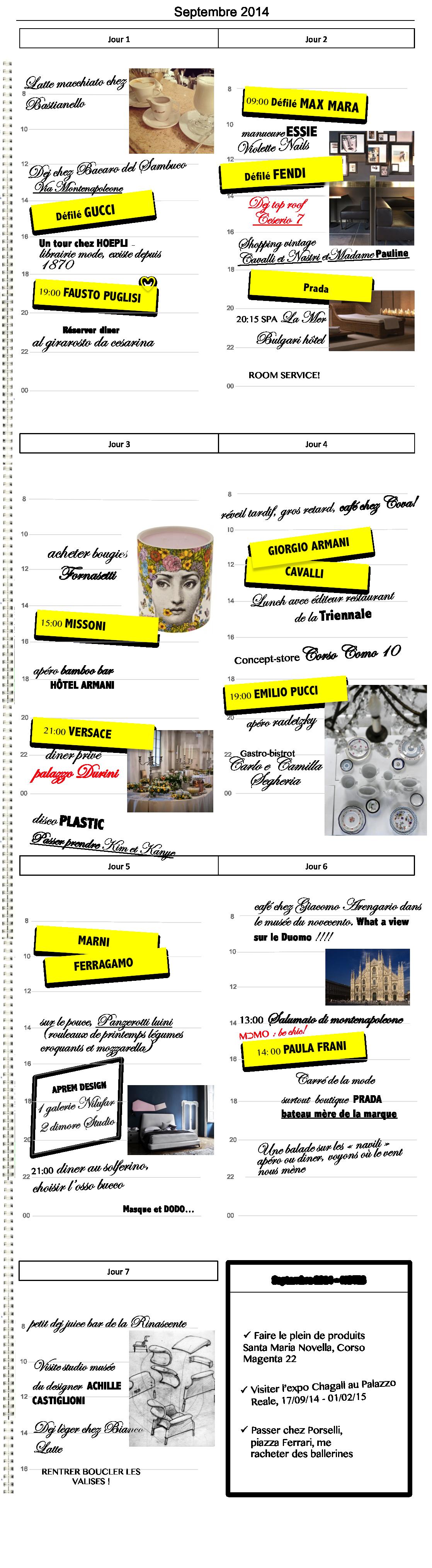 Planning fashion week Milan Alidifirenze4