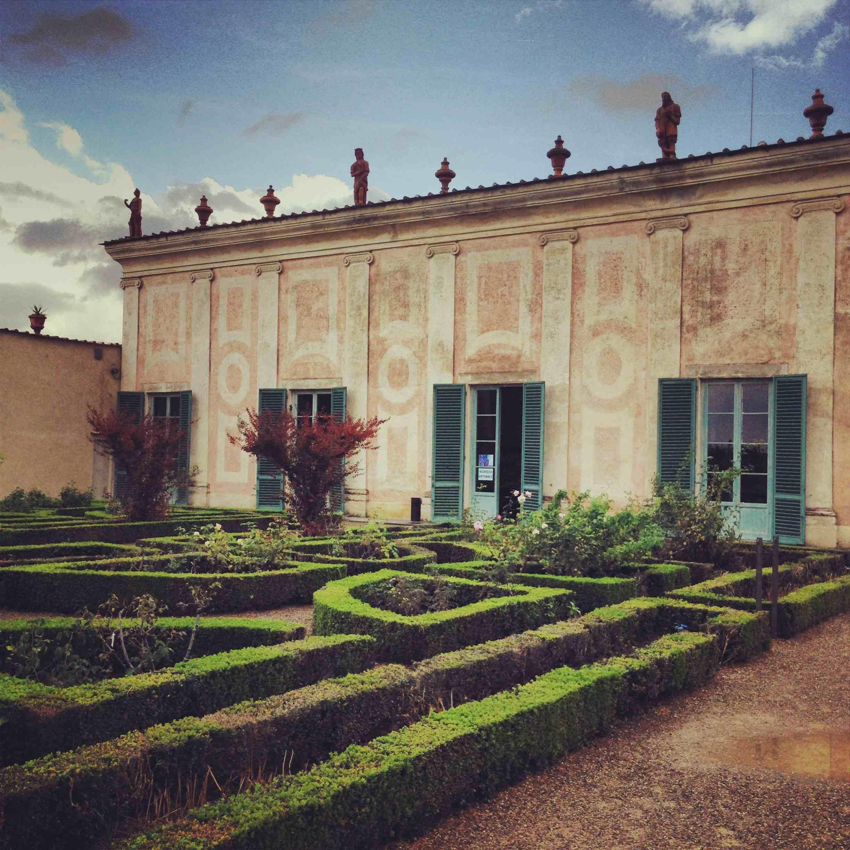 Jardin de boboli  Florence et musée de la porcelaine balade