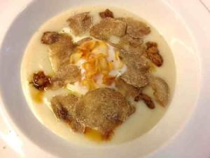 Oeuf et truffes par vito mollica Alidifirenze