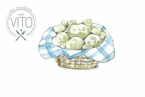Novembre // crème de scorsonère avec ris de veau, œuf de Parisi vapeur et truffe