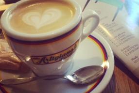 Café du matin à Florence // quartier de Santa Croce