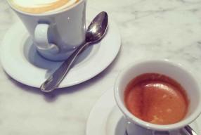 Café du matin à Florence // quartier Ponte Vecchio