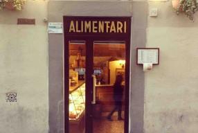 Café du matin à Florence / quartier Tornabuoni