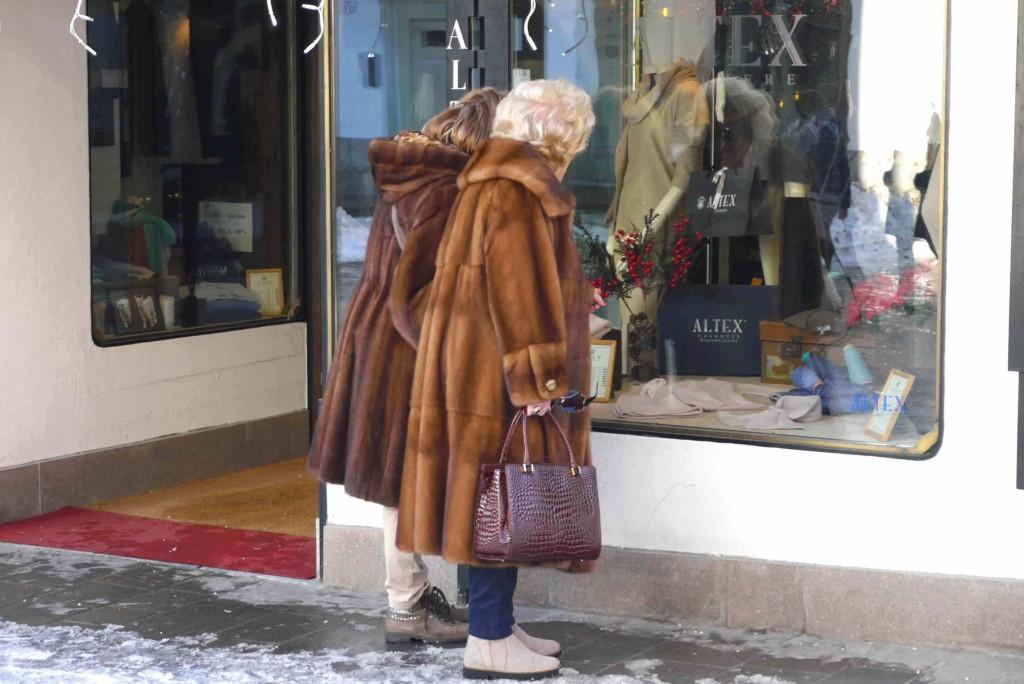 manteaux de fourrure Cortina Alidifirenze
