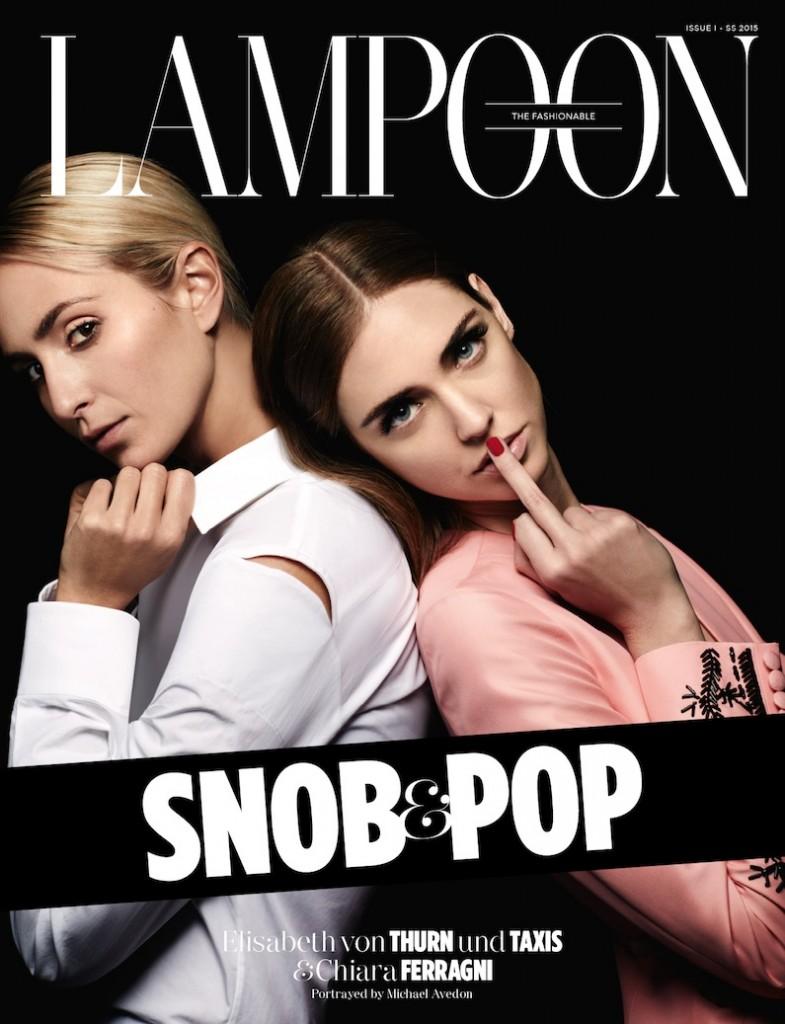 Lapoon magazine Chiara Ferragni
