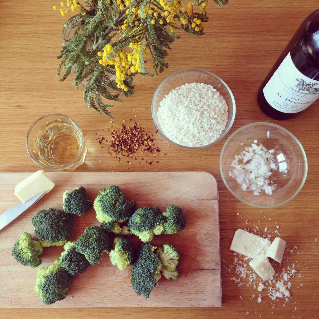 recette risotto brocoli Alidifirenze