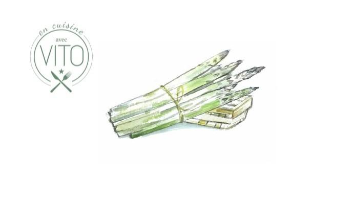 Pates aux asperges en cuisine avec Vito Alidifirenze