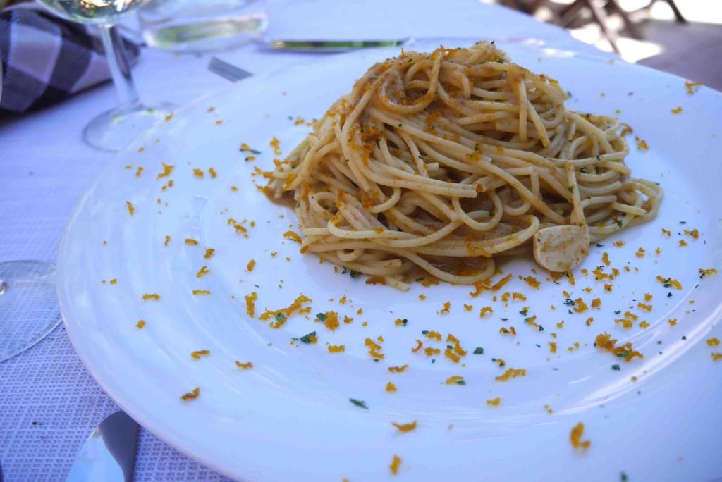 spaghetti bottarga Sardaigne Ali di Firenze