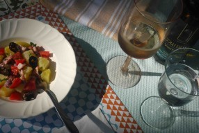 MIMOK #9, salade tiède de poulpe, patate et tomate