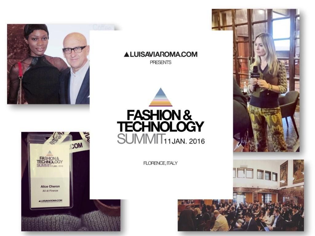 Fashion technology Summit Luisa via roma ali di firenze