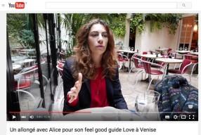 Interview pour la sortie de Love à Venise