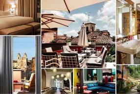 Dix hôtels à Rome