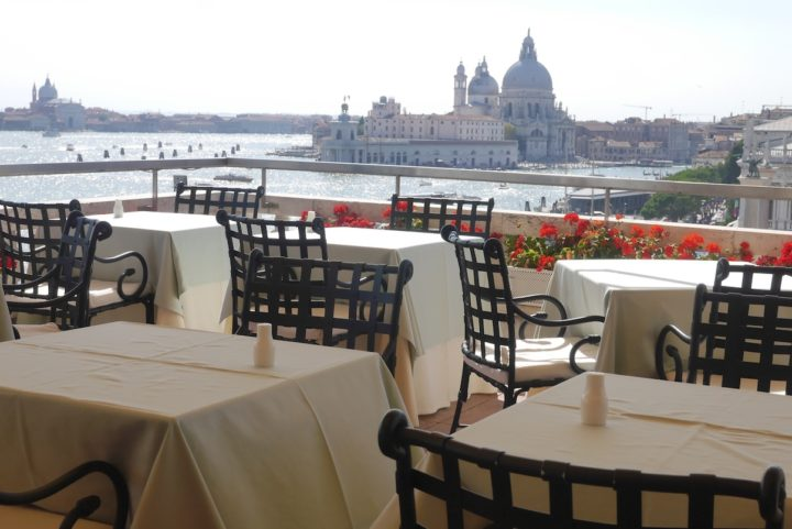 terrasse Danieli Venise ali di venezia