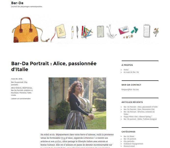 Bar-Da Ali di Firenze Alice Cheron