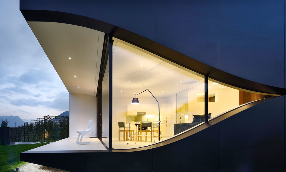 Mirror House ski en italie
