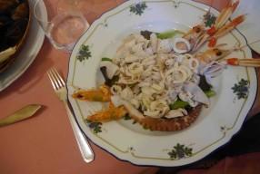 Poisson frais chez Pino et quelques adresses à Viareggio