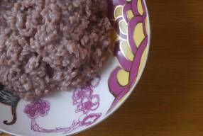 MIMOK #15 Un risotto au vin rouge