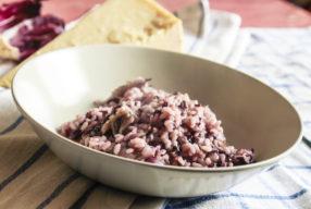MIMOK #17 Risotto à la chicorée rouge et au gorgonzola